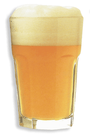 bicchiere jelly francese per degustazione birra blanche belga