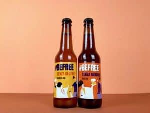 birre artigianali senza glutine #befree bionda e ambrata